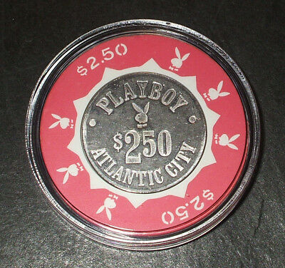 $2.50 Playboy Hotel CASINO CHIP - Atlantic City, New Jersey - 1981 - Bud Jones