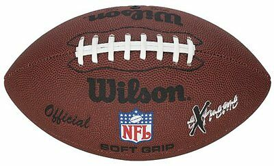 New Wilson NFL Extreme American Football Recreational Soft Grip Ball