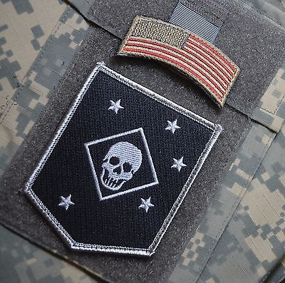 Kandahar Whacker Jsoc Usmc Ghost Force Recon Ssi: Marsoc Raiders + Us Flag Tab