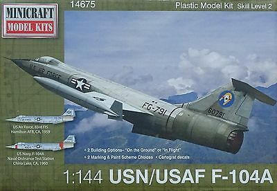 MINICRAFT 14675 F-104A Starfighter USN/USAF in 1:144
