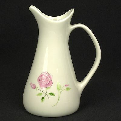 HARD TO FIND Iroquois Wild Rose Creamer Flowers FLAW