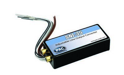PAC SNI35 Speaker Level To RCA Level Adapter; 2-40 Watts P.A.C.