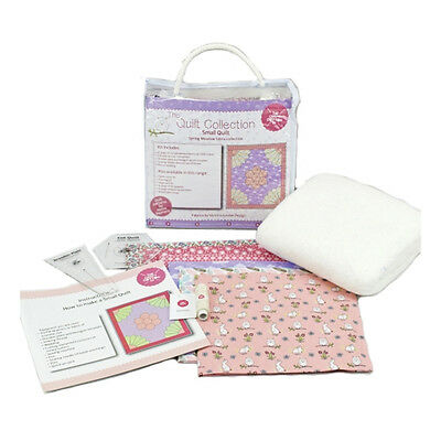 NEW | Craft Cotton 1902-01 | Spring Meadow Small Quilt Kit Pink | FREE SHIPPING