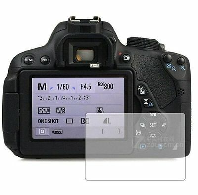 3 x Screen Protectors for Canon Canon EOS 700D  - Clear Display Guard Cover Film