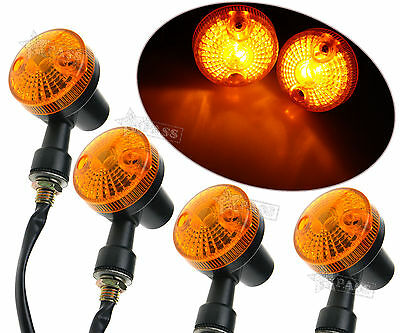Motorcycle Motorbike 12V 9W Bulb Indicators Turn Signal Lights x 4