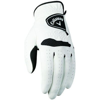 Callaway Golf Mens Xtreme 365 All Weather Gloves Left Hand - 2 Pack