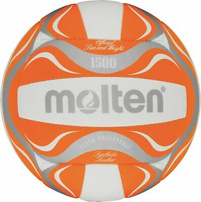Molten Beachvolley Volleyball Strandball Freizeitball BV1500-OR orange 5