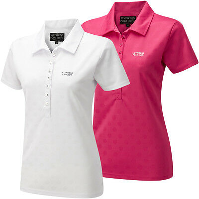 Cypress Point 2014 Ladies CPLTS430 Spot Golf Polo Shirt