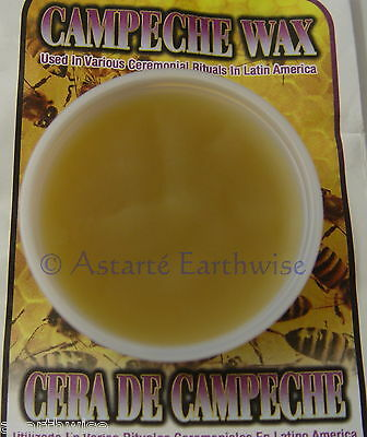 CAMPECHE WAX By INDIO PRODUCTS Wicca Pagan Witch Goth CEREMONIAL RITUALS LATIN