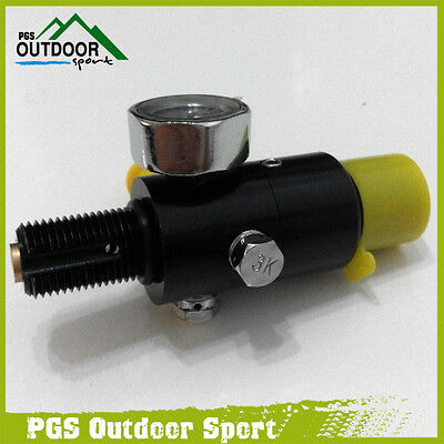 Paintball 4500psi HPA High Compressed Air Tank Regulator Valve Output 800psi