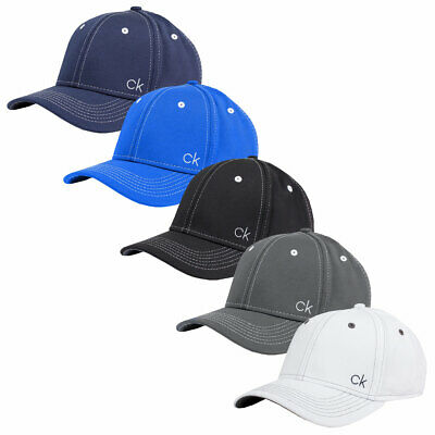 Calvin Klein Golf Mens CK Airtex Adjustable Mesh Baseball Cap 40% OFF RRP