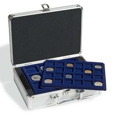 Lighthouse CARGO S6 Small Aluminium Coin Case & Trays 47mm 41mm 33mm Empty case