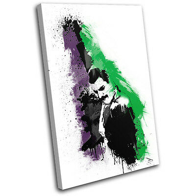 Freddie Mercury Abstract Musical SINGLE CANVAS WALL ART Picture Print VA