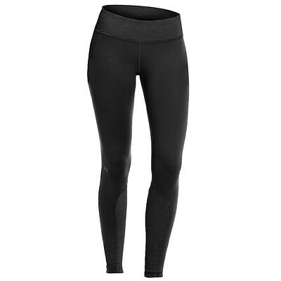 Under Armour Womens UA CG Cozy Tight Base Layer Leggings - Black - L