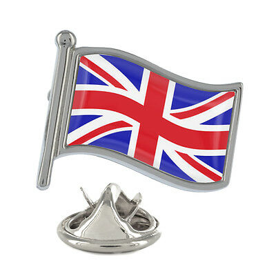 Union Jack Wavy Flag Pin Badge UK Kingdom British English New & Exclusive