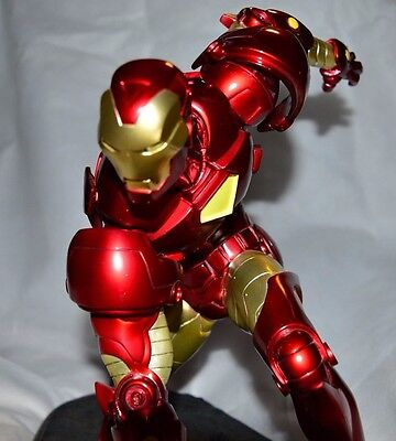 2006 Sideshow Collectible MARVEL IRON MAN Comiquette Statue #423/750 1:4 Scale