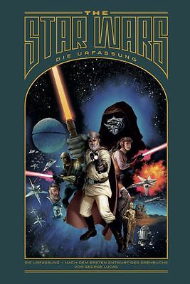 THE STAR WARS: DIE URFASSUNG HC (deutsch) George Lucas Mike Mayhew HARDCOVER