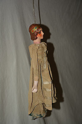 Königin Marionette Queen Princess String Puppet Theatre Kasperle Theater
