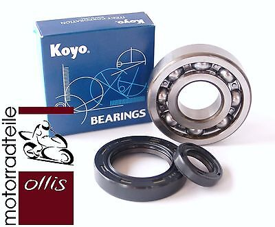 Aftermarket crankshaft bearing (2) and oil seal (2) kit - Honda CR 500 -'84-'01