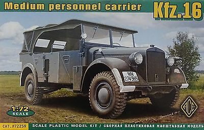 ACE #72259 Medium Personnel Carrier Kfz.16 in 1:72