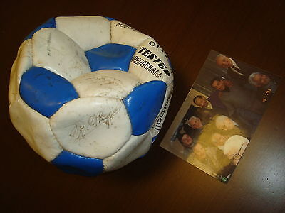 1950 Uruguay Soccer World Cup Champions Anual Meeting Autographed Ball In 1993