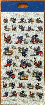 Japan Disney Store STITCH as other Characters costume small stickers sheet