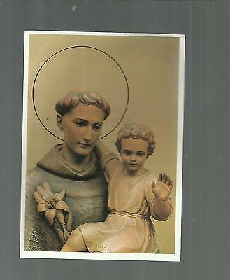 97253 holy card santino santo antonio