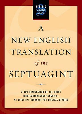 A New English Translation of the Septuagint, Hardback, Bible - 9780195289756