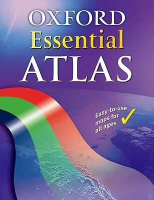 Oxford Essential Atlas, Paperback; Wiegand, Patrick, Geography - 9780198321675