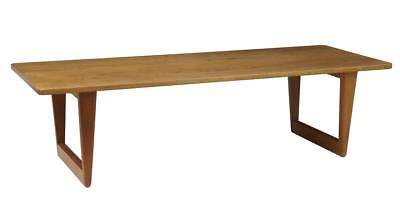 1960's SCANDINAVIAN OAK COFFEE TABLE