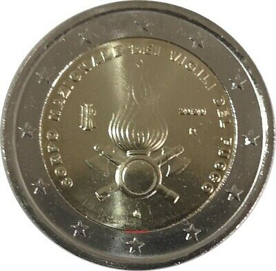 #RM# 2 EURO COMMEMORATIVE ITALY 2020 - Firefighters
