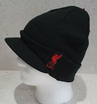 Liverpool Official Peaked Style Bronx Hat - Black - Great Gift Idea!