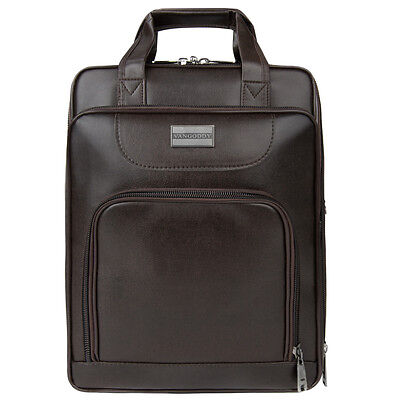 Brown Backpack Laptop Bag Case for ASUS Acer HP Dell Toshiba 13'' 13.3-Inch
