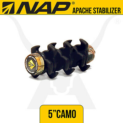 NAP Apache 5 Inch Camo Stabilizer - New Archery Products - Bow Hunting Archery