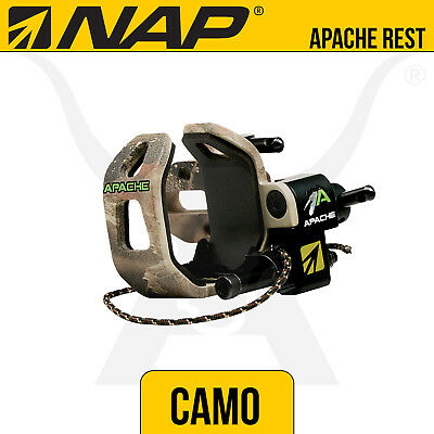 NAP Apache Camo Drop Away Rest - New Archery Products - Bow Hunting Archery