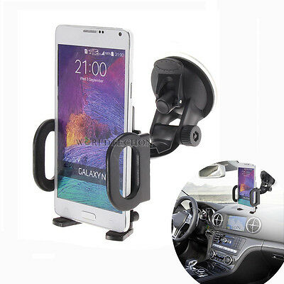 360°Car Windshield Mount Holder Bracket For Mobile Cell Phone GPS iPhone Samsung