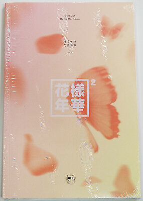 BTS - In The Mood For Love PT.2 [PEACH ver.] CD with Poster Extra Photocards Set