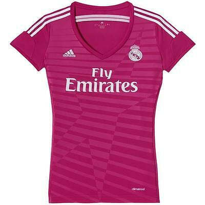 adidas Real Madrid Away 2014/2015 Damen Trikot Jersey Pink