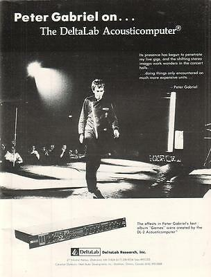 Peter Gabriel 1981 Ad- DeltaLab Research Acousticomputer