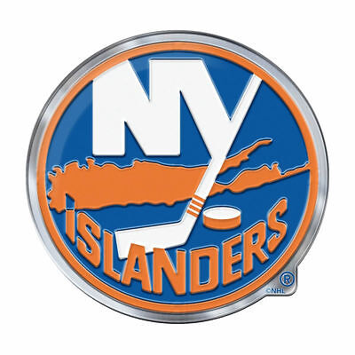 NHL New York Islanders 3D Color Auto Emblem Sticker Decal Car Truck SUV