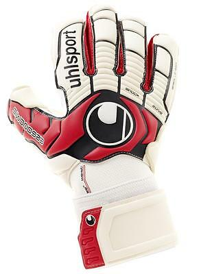Uhlsport Ergonomic Absolutgrip Torwarthandschuhe weiß