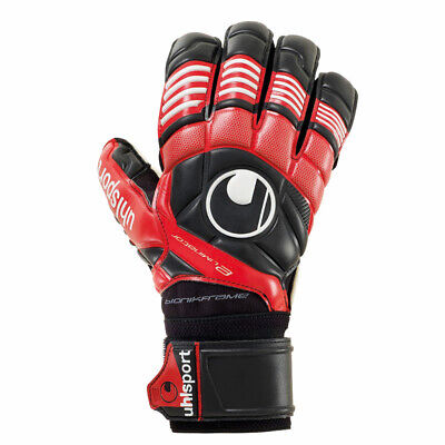 Uhlsport Eliminator Supersoft Bionik Torwarthandschuhe Fingerschutz rot