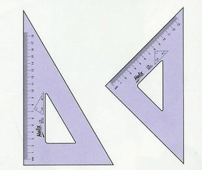 L61010 26cm 45 Degree Set Square ( 1JRBH7 )