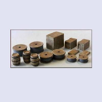 Knightwing PM101 Crates Barrels and Sacks (67 Items) OO Gauge
