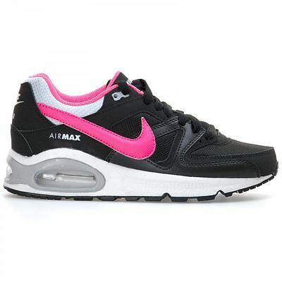 SCARPE SNEAKERS DONNA NIKE ORIGINAL AIR MAX COMMAND 407626 PELLE A/I 2015/16 NEW