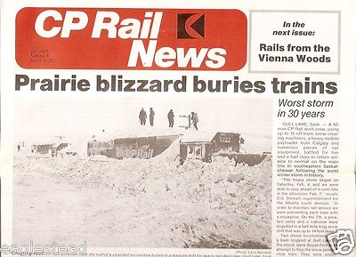 Railroad Employee Newsletters - CP Rail - Set of 8 from 1978/79 (Canada)