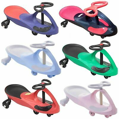 Swing Car Ride On Swivel Scooter Childrens Toy Kids Wiggle Gyro Twist & Go Gift