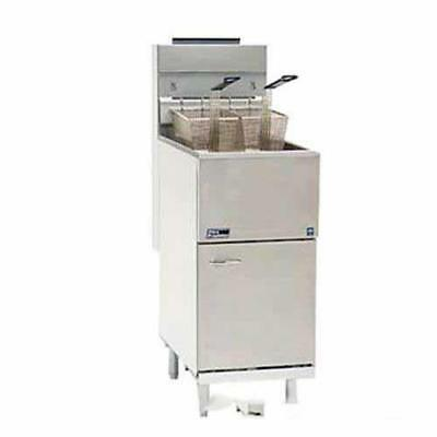 Pitco - 65C+S - Economy 80 Lb Gas Fryer