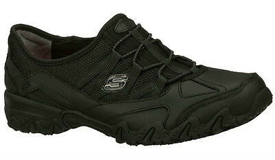 Skechers Compulsions Indulgent Leather Womens/ladies Slip Resistant Work Shoes
