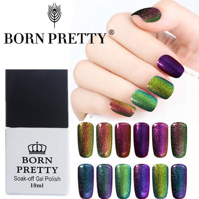 Born Pretty 10ml Nail Chameleon UV Gel Polish Nail Art Gel Varnish Multi Color